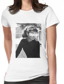 Hepburn #3 Womens Fitted T-Shirt