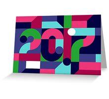 Holiday Card 2017 Greeting Card