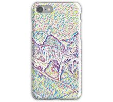 colourful mountains iPhone Case/Skin