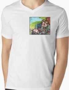 Hannibal - High school AU Mens V-Neck T-Shirt