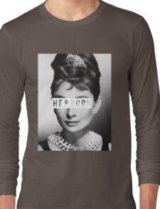 Hepburn #4 Long Sleeve T-Shirt