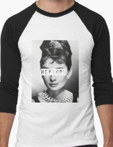 Hepburn #4 Men's Baseball ¾ T-Shirt