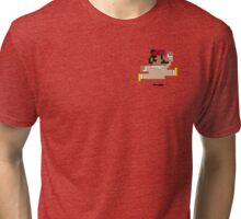 Mario + Morocco = Omario Tri-blend T-Shirt