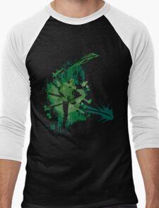 Splatter Swordsman Men's Baseball ¾ T-Shirt