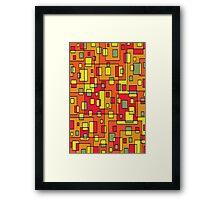 Colorful-46 Framed Print