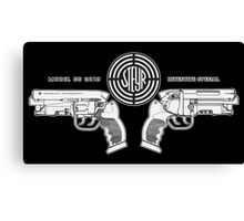 Blade Runner police blaster Canvas Print