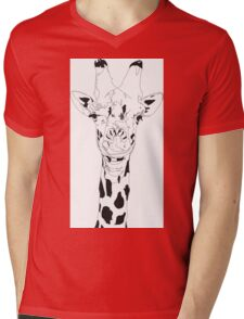 Gavin the Giraffe  Mens V-Neck T-Shirt