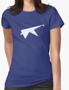 paper Womens Fitted T-Shirt