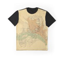 Map of Richmond 1864 Graphic T-Shirt