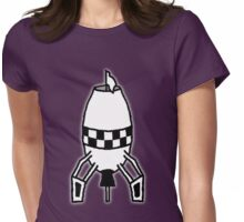 Cartoon Bomb - Defused [Big] Womens Fitted T-Shirt