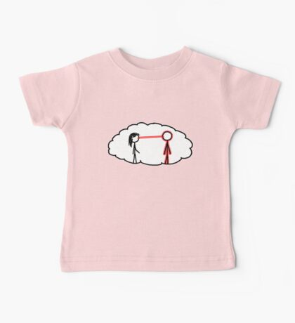 What do you see? [Laser Girl] Baby Tee