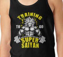 Training To Go Super Saiyan - Broly Tank Top