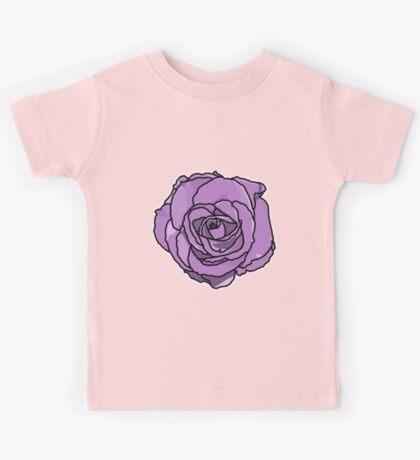 Lavender Rose [Big] Kids Tee