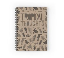 Tropical Thoughts Spiral Notebook