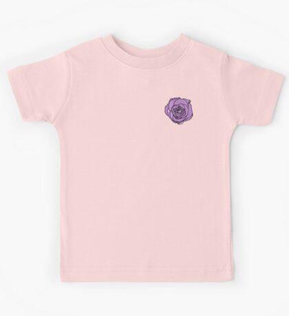 Lavender Rose [Small] Kids Tee