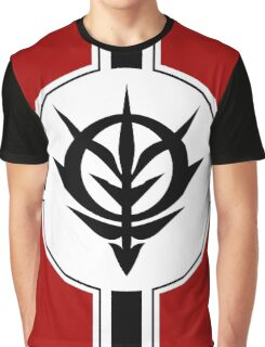 Zeon Gundam Flag Graphic T-Shirt