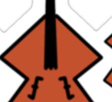 Cartoon String Trio [Small] Sticker