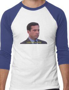 I Understand Nothing - Michael Scott Men's Baseball ¾ T-Shirt
