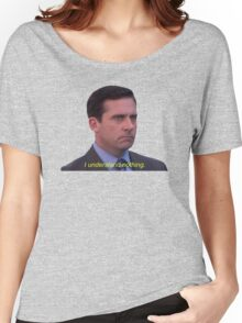 I Understand Nothing - Michael Scott Women's Relaxed Fit T-Shirt