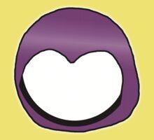 Cartoon Face 3 - Moonbase Girl [Big] Kids Clothes