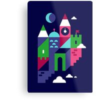 Holiday Castle Metal Print