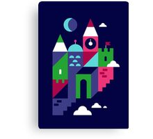 Holiday Castle Canvas Print