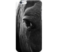 Eye of a horse iPhone Case/Skin