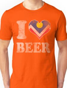 I Heart Denver Beer Colorado Unisex T-Shirt