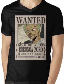 Roronoa Zoro Wanted Poster T-Shirt