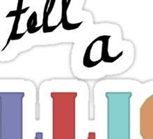 A Million Stories Sticker