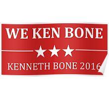 WE KEN BONE - 2016 Poster
