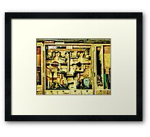 Woodworking Tools Framed Print