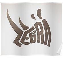 Them Zebras Poster