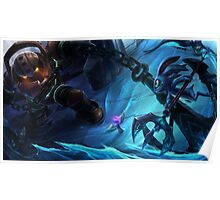 Nautilus VS Fizz/League of legends Poster