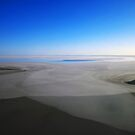 Lake Eyre (South) from the Air by George Petrovsky