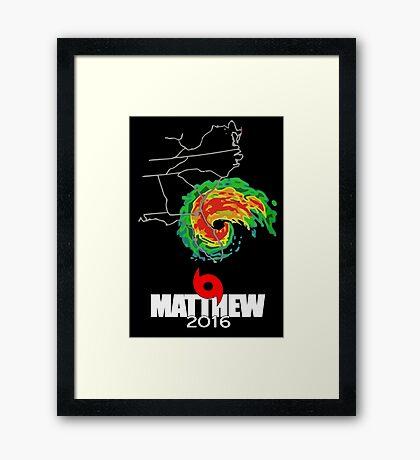 Matthew 2016 Framed Print