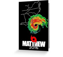 Matthew 2016 Greeting Card