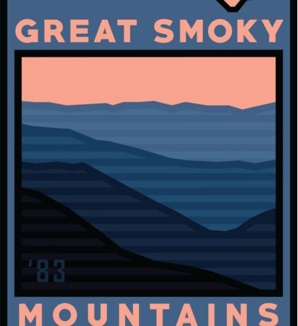 New Great Smoky Mountains Nat'l Park Gear! Sticker