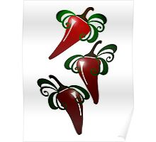 Red Peppers iPhone / Samsung Galaxy Case Poster