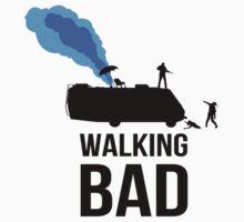 Walking Bad T Shirt by Fangpunk