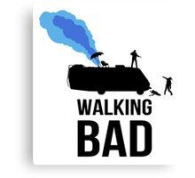 Walking Bad T Shirt Canvas Print