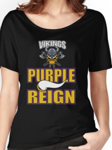 Vikings - Purple Reign Women's Relaxed Fit T-Shirt