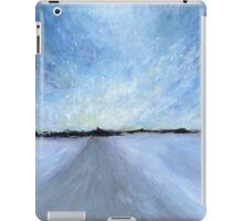 Snowstorm: Fading Winter Light iPad Case/Skin