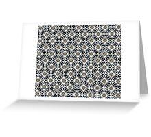 Osteodiplopada Mosaic Greeting Card
