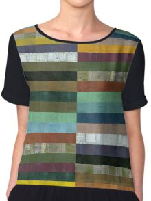 Wooden Abstract lX Chiffon Top