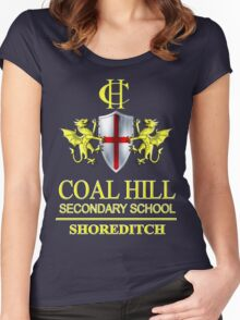 Doctor Who - Coal Hill Secondary Women's Fitted Scoop T-Shirt
