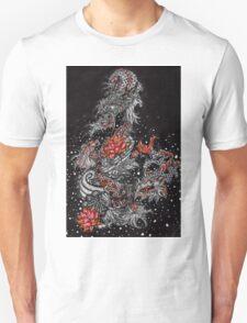 Japanese dragon, koi fish, koi dragon Unisex T-Shirt