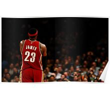 Lebron James Poster, Cover Poster