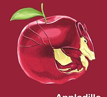 Aa - Appladillo // Half Armadillo, Half Apple by bkkbros