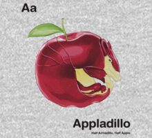 Aa - Appladillo // Half Armadillo, Half Apple Kids Clothes